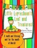 Little Leprechaun's Loot and Treasures {Literacy & Math Ac