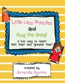 Little Less Princess and King the Great (Less Than and Greater Than)