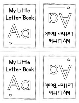 "Little Letter ""A"" Book: FREEBIE"