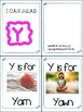 Little Letter Alphabet Books- Letters S Through Z- Letter of the Week Tool