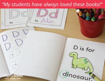 Alphabet Books: ABC Books for Preschool, Pre-k and Kindergarten