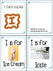 Little Letter Alphabet Books- Letters A through I- Letter of the Week Tool