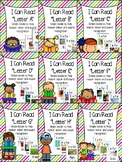 Little Letter Alphabet Books- Letters A through I- Letter