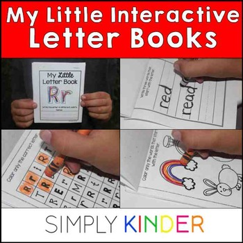 Little Letter Books (simlply kinder)