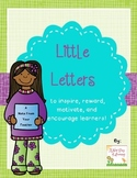Little Letters to Encourage Learners