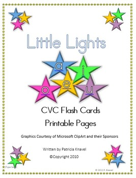 Little Lights Flashcards