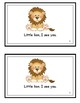 Little Lion, I See You! Reproducible Guided Reader