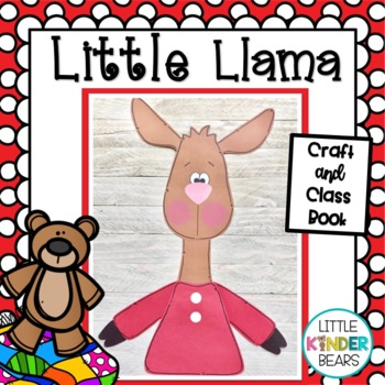 Little Llama : Book Companion Crafts: Back to School Crafts
