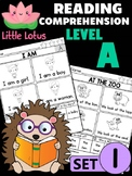 Little Lotus Reading Comprehension and Fluency - Level A - Set 1