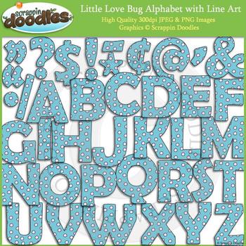 Little Love Bug Alphabet