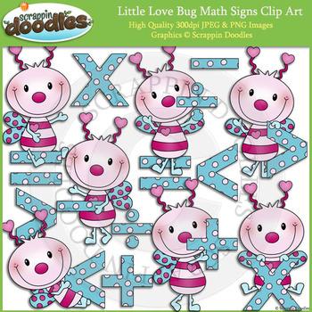 Little Love Bug Math Signs