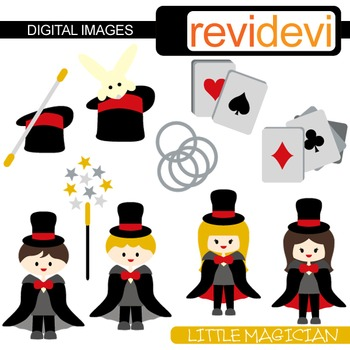 Little Magician Clip Art