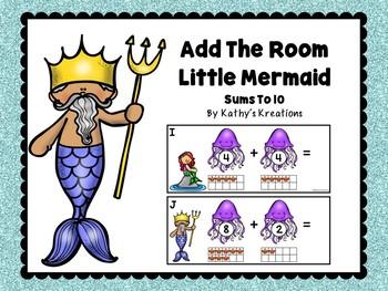 Little Mermaid Add The Room
