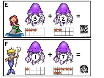 Little Mermaid Add The Room (QR Code Ready)