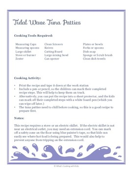Little Mermaid Themed Cooking, Literacy and Science Activities