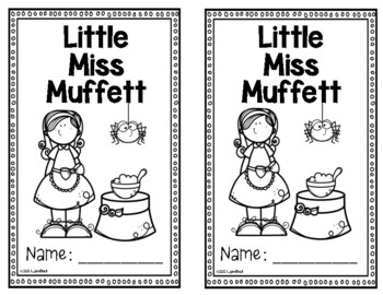 Mother Goose Rhymes: Little Miss Muffet