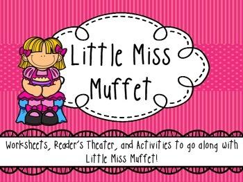 Little Miss Muffet - Activity Pack / Reader's Theater