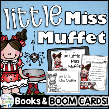 Little Miss Muffet Nursery Rhyme Emergent Reader & Class Poster