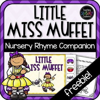 Little Miss Muffet: Interactive Book and Poster