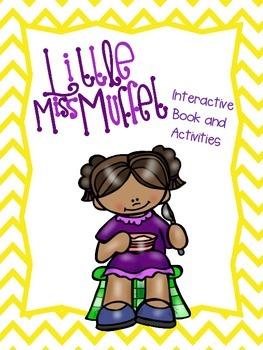 Little Miss Muffet Interactive Book and Activities