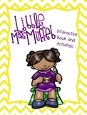 Little Miss Muffet Interactive Book and Activities