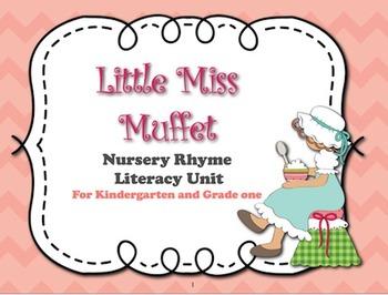 Little Miss Muffet Literacy Kit