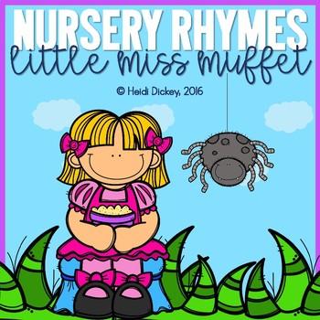 Little Miss Muffet Nursery Rhyme Pack