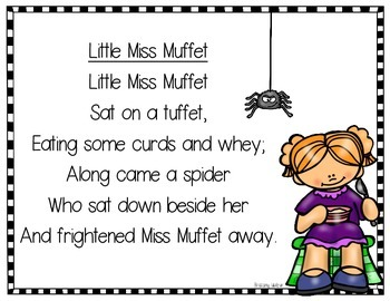 Little Miss Muffet Resources