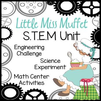 Little Miss Muffet STEM Nursery Rhyme Activities