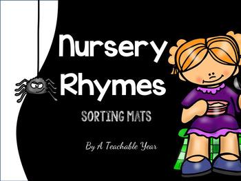 Little Miss Muffet Sorting Mat