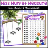 Little Miss Muffet Spiderweb Measurement Activity