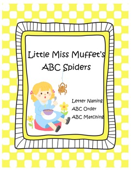 Little Miss Muffet's ABC Spiders