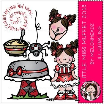 Little Miss Muffet clip art 2013 - COMBO PACK- by Melonheadz