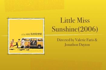 Little Miss Sunshine PBL film study