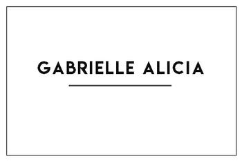 Gabrielle Alicia Logo Button