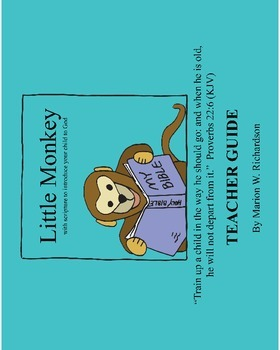 Little Monkey Teacher Guide Christian Lesson Plan: intro to God