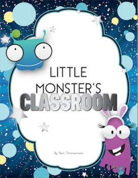Art & Language Activity - Create your own Little Monster