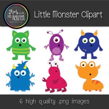 Little Monster Clipart