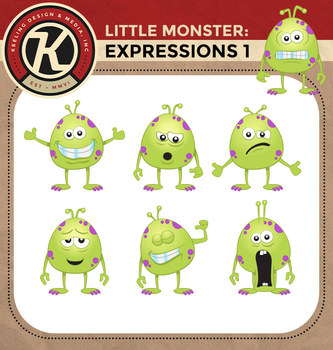 Little Monster - Expressions 1