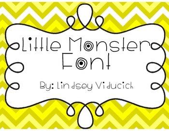 Little Monster Font