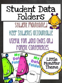 Little Monster Student Data Binder
