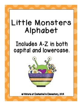 Little Monsters Alphabet! Letter and Sound Recognition Game