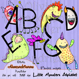Little Monsters Alphabet - Upper Case