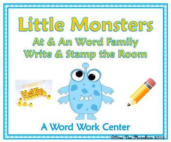 Little Monsters At & An Family Write/Stamp the Room Activity Pack