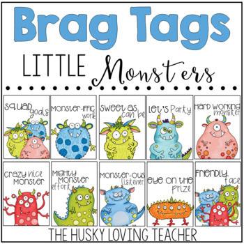 Little Monsters Brag Tags