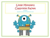 Little Monsters Classroom Decorations