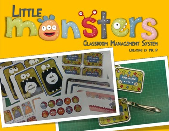 Little Monsters Classroom Management Behavior and Participation Rewards System