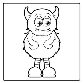 Monsters Clip Art:  Little Monsters