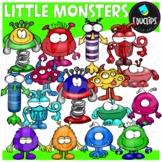 Little Monsters Clip Art Bundle {Educlips Clipart}