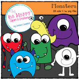 Little Monsters Clipart